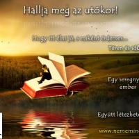 Hallja meg az utókor! Történeteink könyv formában. Remélem, a miénk lesz! Megcsináljuk?  :)