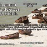 Haraszti László: Holokauszt megemlékezés 2013. Siófok (Hangos igaz történet)