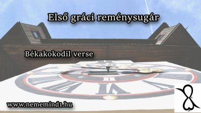 Első gráci reménysugár (Békakokodil verse)