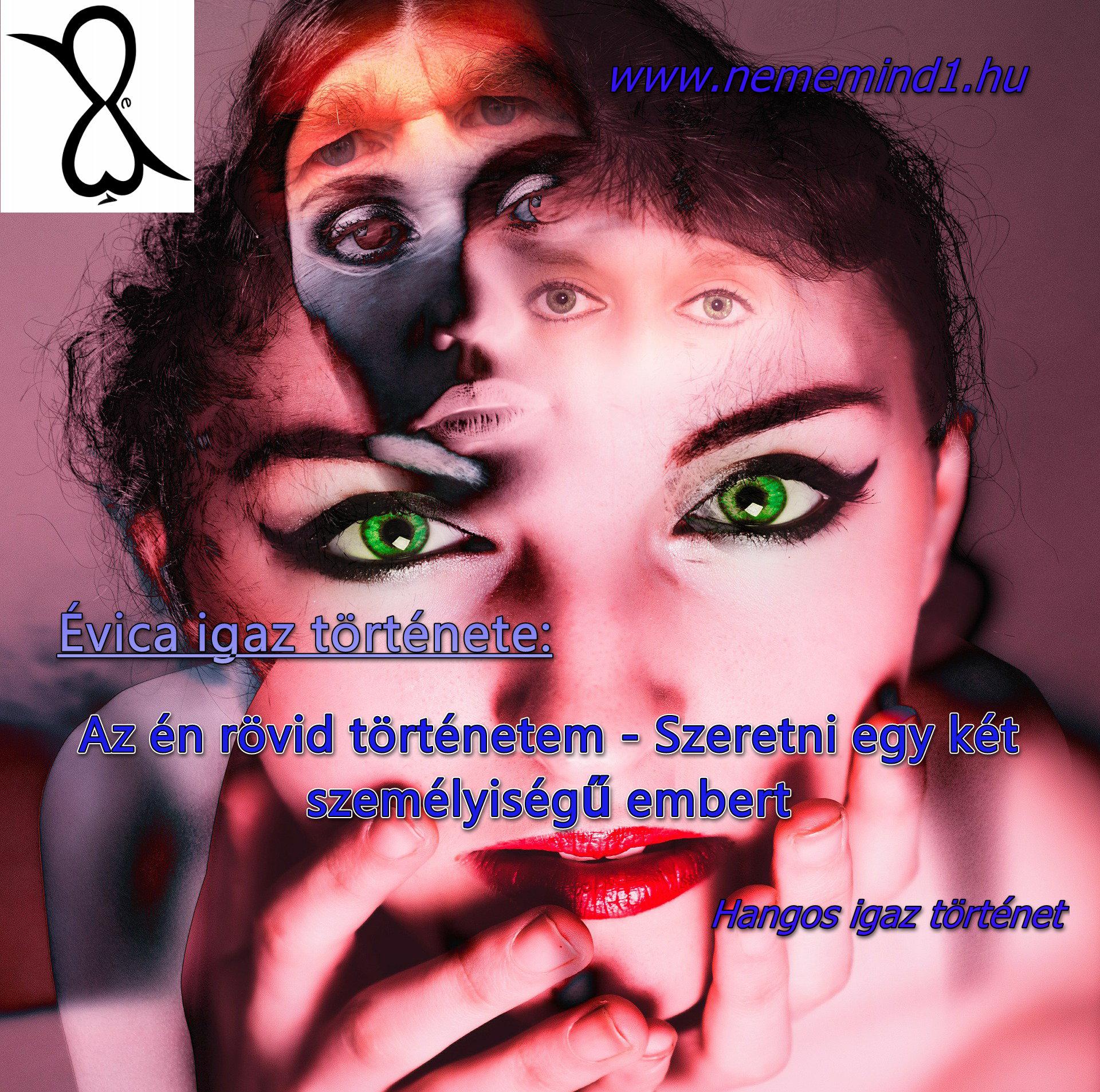 Evica: Szeretni egy két személyiségű embert (Hangos igaz történet)