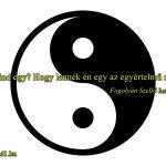 Hangos Fogolyán Szellő (Harangi Emese) írások 52, Mind egy? Hogy lennék én egy az egyértelmű rosszal? (Esszé)